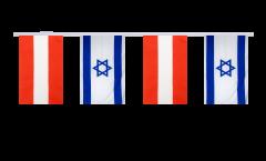 Freundschaftskette Österreich - Israel - 15 x 22 cm