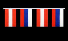 Freundschaftskette Österreich - Russland - 15 x 22 cm