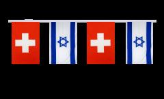 Freundschaftskette Schweiz - Israel - 15 x 22 cm