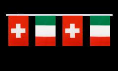 Freundschaftskette Schweiz - Italien - 15 x 22 cm