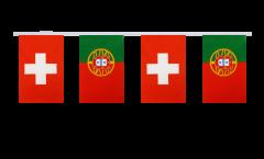 Freundschaftskette Schweiz - Portugal - 15 x 22 cm