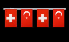 Freundschaftskette Schweiz - Türkei - 15 x 22 cm