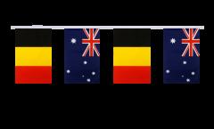 Freundschaftskette Belgien - Australien - 15 x 22 cm