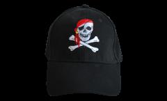 Cap / Kappe Pirat mit Kopftuch, fan