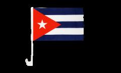 Autofahne Kuba - 30 x 40 cm