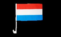 Autofahne Luxemburg - 30 x 40 cm