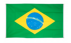 Balkonflagge Brasilien - 90 x 150 cm