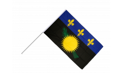 Stockflagge Frankreich Guadeloupe - 60 x 90 cm