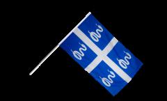 Stockflagge Frankreich Martinique - 60 x 90 cm