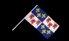 Stockflagge Frankreich Picardie - 60 x 90 cm