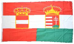 Flagge Österreich-Ungarn Handelsflagge 1867-1918 - 90 x 150 cm