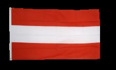 Flagge Österreich, genäht - 270 x 450 cm