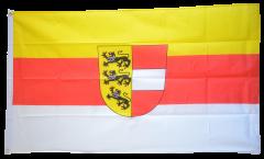 Flagge Österreich Kärnten - 90 x 150 cm