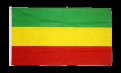 Flagge Äthiopien ohne Wappen, Rasta
