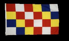Flagge Belgien Antwerpen