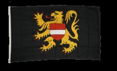 Flagge Belgien Flämisch Brabant