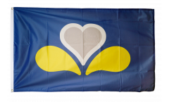 Flagge Belgien Hauptstadtregion Brüssel neu - 90 x 150 cm