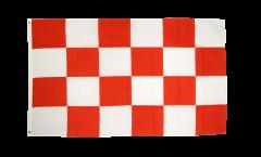 Flagge Belgien Nordbrabant