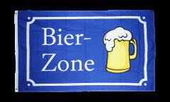 Flagge Bier Bier-Zone