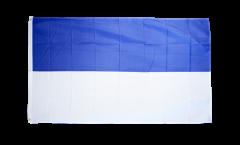 Flagge Blau-Weiß, genäht - 270 x 450 cm