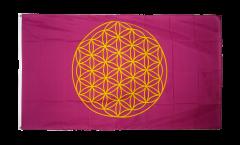 Flagge Blume des Lebens - 90 x 150 cm