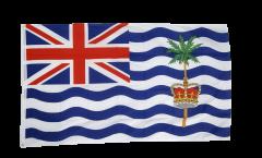 Flagge Britisches Territorium im Indischen Ozean