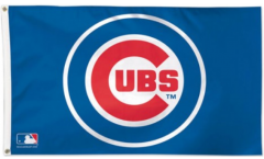 Flagge MLB Chicago Cubs - 90 x 150 cm