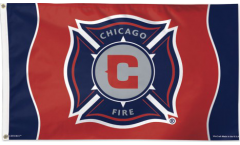 Flagge MLS Chicago Fire - 90 x 150 cm