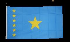 Flagge Demokratische Republik Kongo alt - 90 x 150 cm