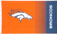 Flagge NFL Denver Broncos Fan - 90 x 150 cm