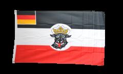 Flagge Deutsches Reich Seedienstflagge Mecklenburg-Schwerin 1923-1933