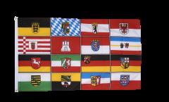 Flagge Deutschland 16 Bundesländer - 90 x 150 cm