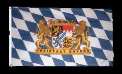Flagge Deutschland Bayern Freistaat - 90 x 150 cm