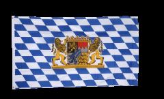 Flagge Deutschland Bayern mit Löwe