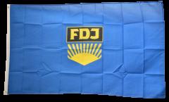 Flagge Deutschland DDR FDJ Freie Deutsche Jugend - 90 x 150 cm