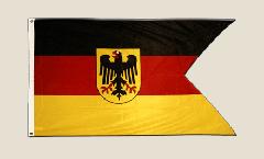 Flagge Deutschland Dienstflagge der Seestreitkräfte Deutsche Marine