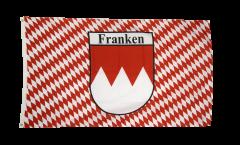 Flagge Deutschland Franken kariert