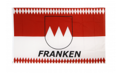 Flagge Deutschland Franken Raute - 90 x 150 cm