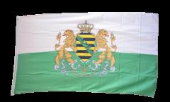Flagge Deutschland Königreich Sachsen 1854-1873