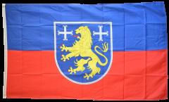 Flagge Deutschland Landkreis Friesland - 90 x 150 cm