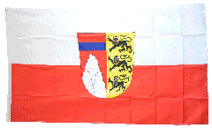 Flagge Deutschland Landkreis Oberallgäu - 90 x 150 cm