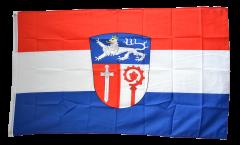 Flagge Deutschland Landkreis Ostallgäu - 90 x 150 cm