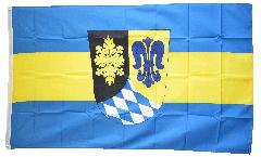 Flagge Deutschland Landkreis Unterallgäu