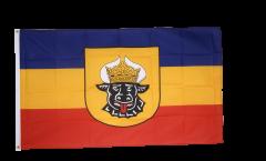 Flagge Deutschland Mecklenburg alt - 90 x 150 cm