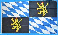 Flagge Deutschland Rheinische Pfalzgrafschaft Kurpfalz - 90 x 150 cm
