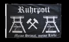 Flagge Deutschland Ruhrpott Ruhrgebiet 2 - 150 x 250 cm