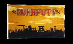 Flagge Deutschland Ruhrpott Ruhrgebiet 3 - 90 x 150 cm