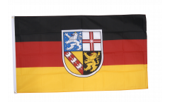 Flagge Deutschland Saarland - 90 x 150 cm