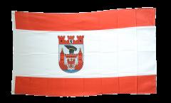Flagge Deutschland Stadt Berlin Spandau - 90 x 150 cm