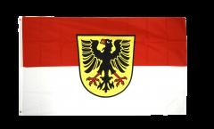 Flagge Deutschland Stadt Dortmund - 90 x 150 cm